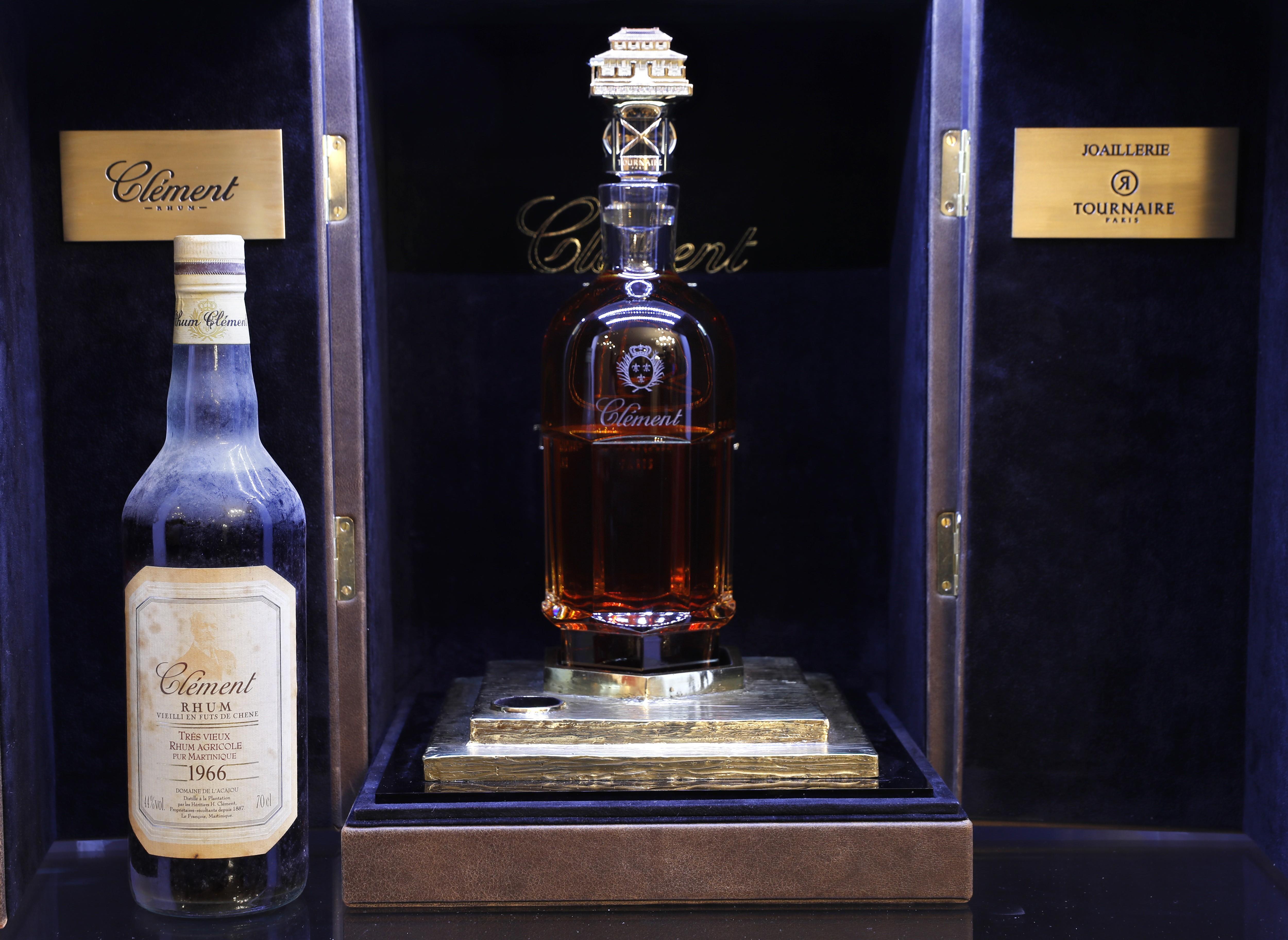 Garrafa de rum mais cara do mundo é vendida por € 100 mil