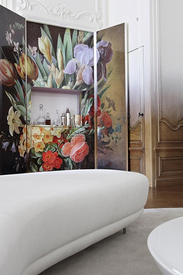 Appartement réal/RAMI FISCHLER DESIGNER Place de Colombie-Paris/Réalisé avec Caroline Clavier (styliste et auteur du texte pour Vivre Côté Paris) (Foto: Paul Graves e N. Millet/Divulgação)