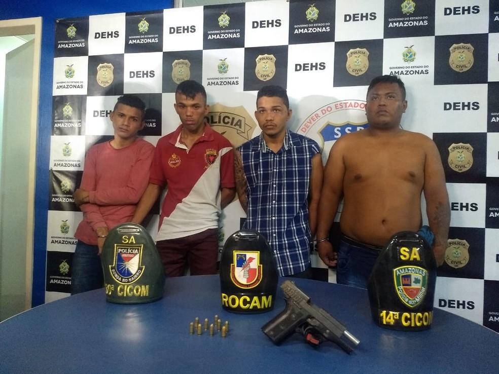 Grupo foi apresentado na DEHS nesta quinta-feira (20) — Foto: Divulgação