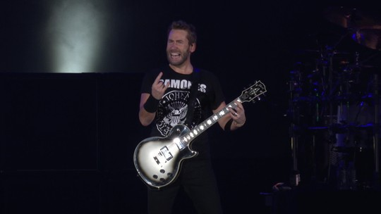 Nickelback toca sucesso do Metallica no Rock in Rio