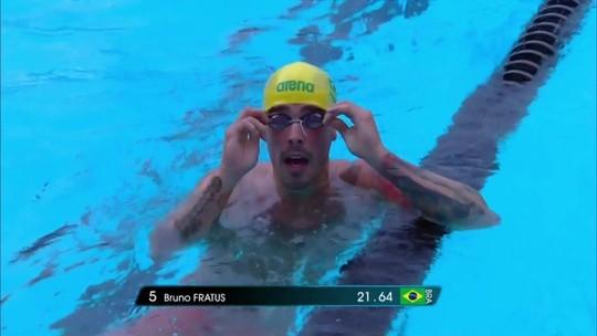 Bruno Fratus conquista a medalha de ouro no 50m livre no Mare Nostrum