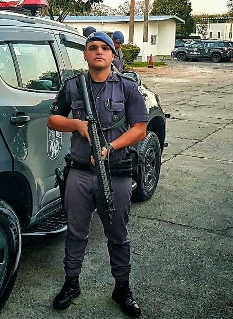 Leonardo César Assunção desapareceu no rio Paraíba durante perseguição (Foto: Divulgação/ Polícia Militar)