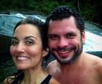 Renata e o marido, Leo Salles Viot | Reprodução