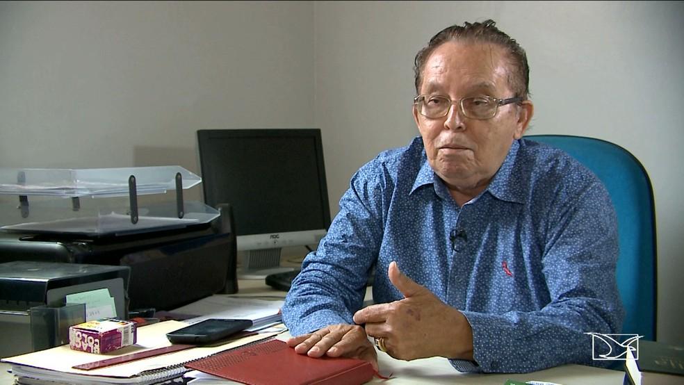 Elizeu Fernandes, da Ordem dos Pastores Batistas, defendeu a nomeação de servidores públicos por meio de concurso (Foto: Reprodução/TV Mirante)