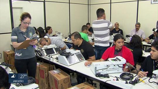 Urnas eletrônicas começam a ser preparadas para eleições em Pernambuco