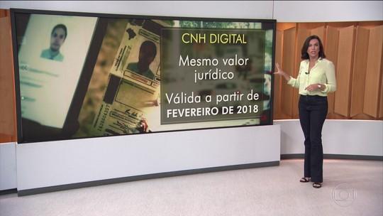 CNH digital é aprovada pelo Contran e deve valer a partir de fevereiro, diz governo