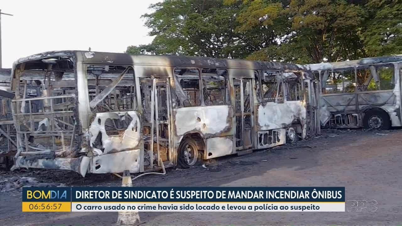 Diretor de Sindicato é suspeito de mandar por fogo em ônibus em Sarandi