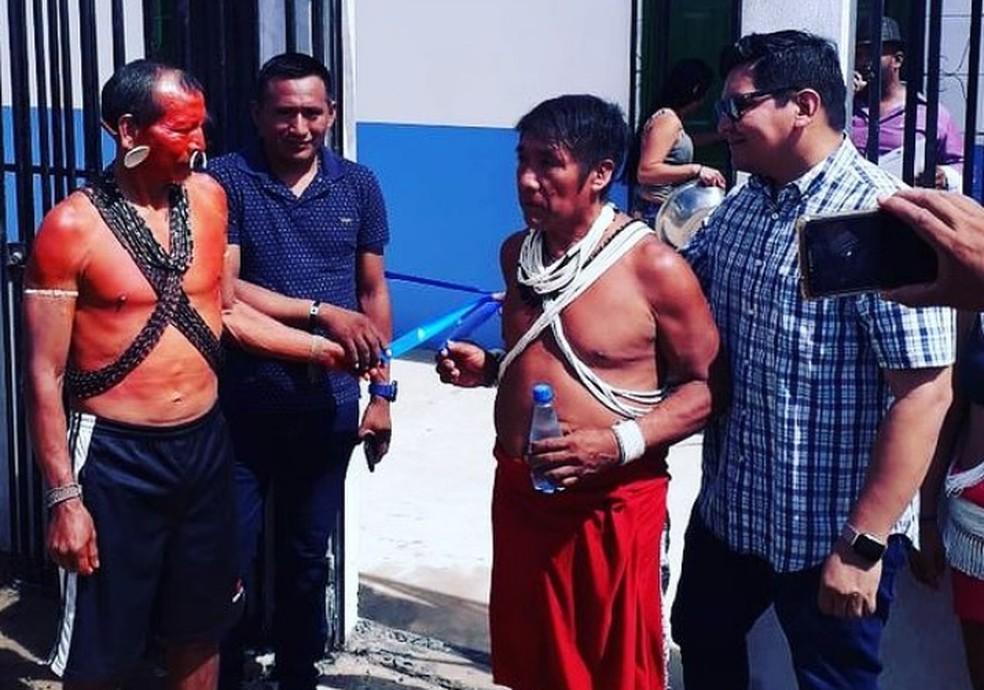 Entidade representa indígenas do Vale do Javari, no Amazonas.  — Foto: Reprodução/Redes Sociais