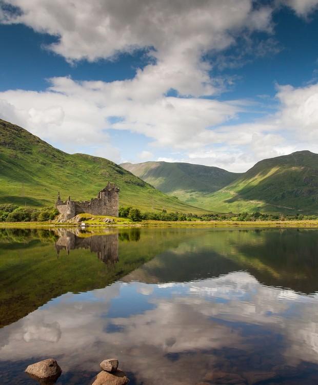 O Kilchurn Castle já foi lar de uma família no século 14  (Foto: Getty Images/ Reprodução)