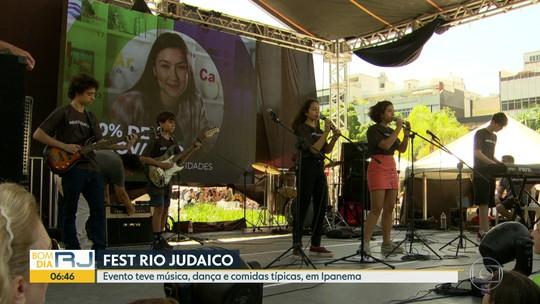 Evento judaico tem música, dança e comidas típicas, em Ipanema