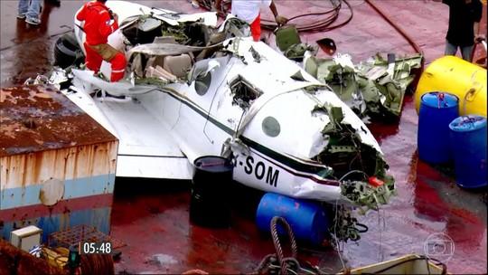 Justiça decreta sigilo sobre investigações da queda do avião no RJ
