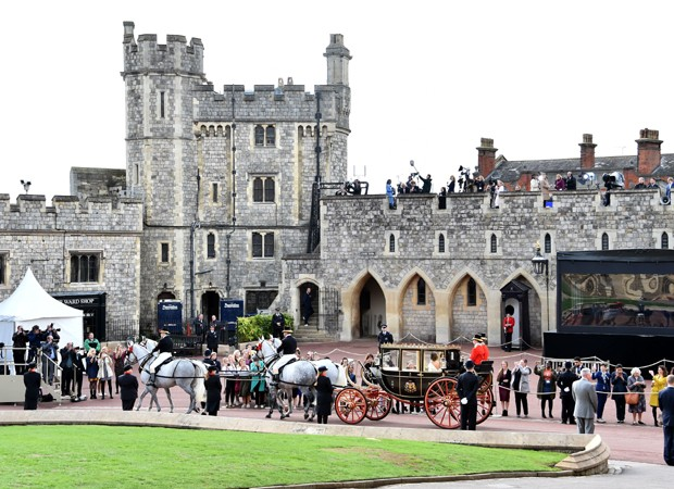 Fachada do Castelo de Windsor (Foto: Getty Images)