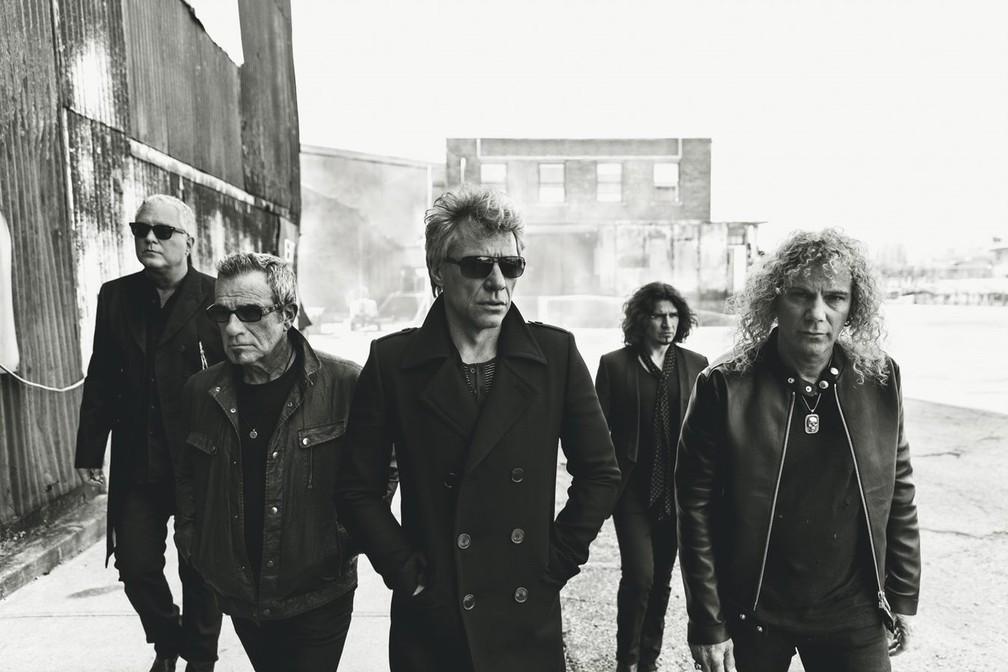 Bon Jovi — Foto: Divulgação