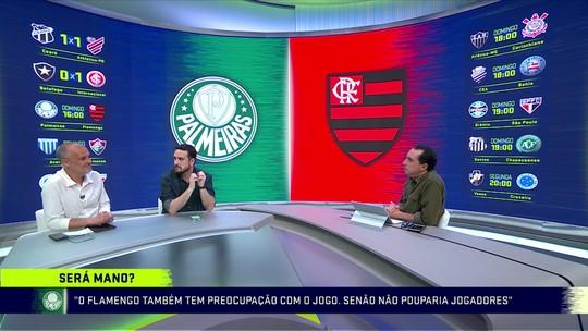 """Raphael Rezende sobre Palmeiras x Flamengo, com torcida única: """"abre um precedente perigoso"""""""