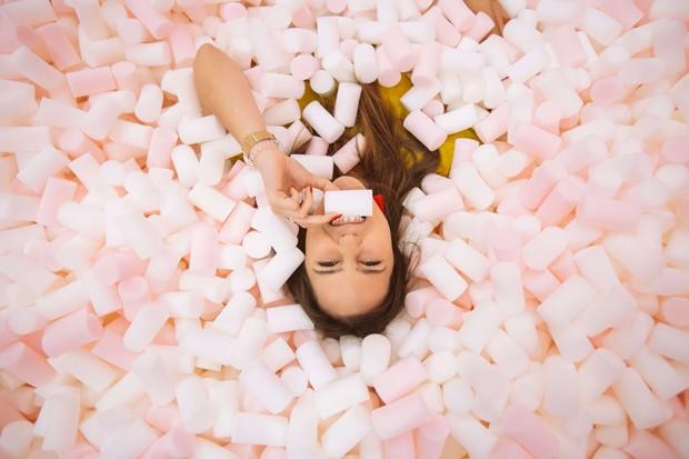 Museu Mais Doce do Mundo chega a SP com piscina de marshmallow (Foto: Divulgação)