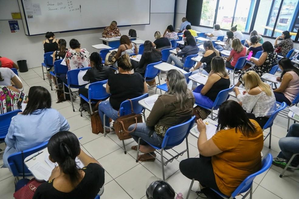 Processo seletivo para contratação de professores de Campos (Foto: Prefeitura de Campos dos Goytacazes/Divulgação)