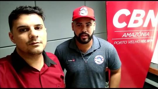 """""""Nossa característica é de um time sempre intenso"""" revelou o técnico Michael Douglas, do Porto Velho sub-15"""