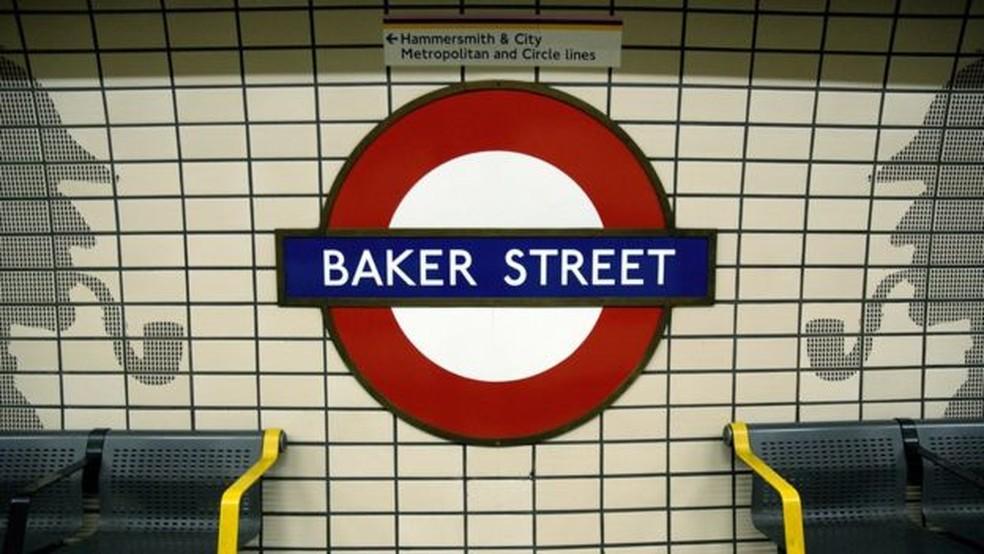 -  Estação de metrô de Baker Street  Foto: Reprodução