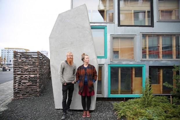 Zona ecológica na Noruega reúne projetos arquitetônicos experimentais (Foto: Divulgação)