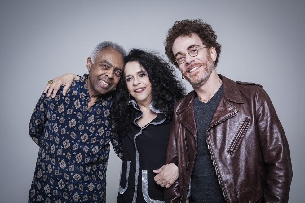 """Show """"Trinca de Ases"""" , com Gilberto Gil, Gal Costa e Nando Reis. (Foto:  Daryan Dornelles/Divulgação)"""