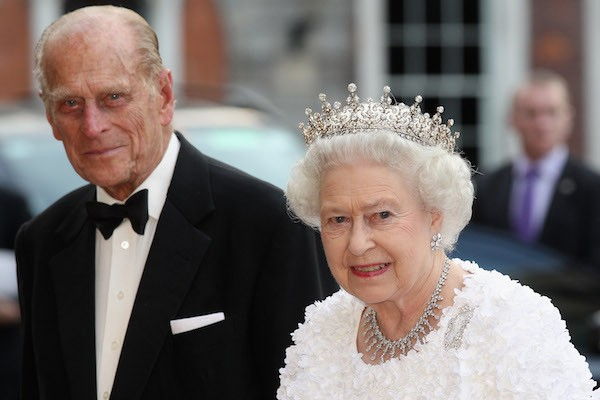 O Príncipe Philip com a Rainha Elizabeth (Foto: Getty Images)