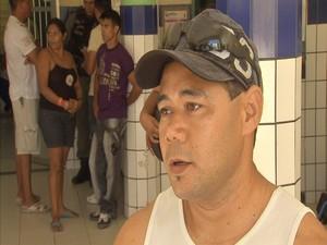 Iran Freitas usava cinto e saiu ileso no acidente (Foto: TV Verdes Mares/Reprodução)