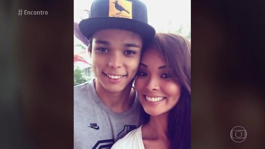 Carol Nakamura fala sobre ter filho de 18 anos: 'Acham que ele é meu irmão'