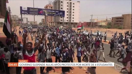 Governo do Sudão suspende aulas após protestos por mortes de quatro estudantes