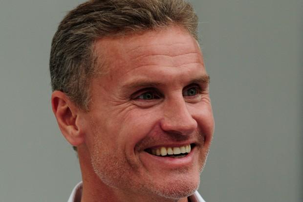 David Coulthard, de piloto a comentarista de TV (Foto: Ivan Carneiro)