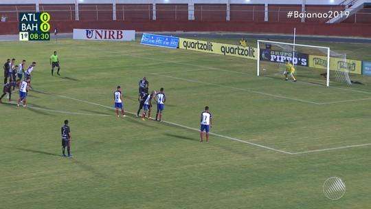Atlético-BA x Bahia - Campeonato Baiano 2019 - globoesporte.com