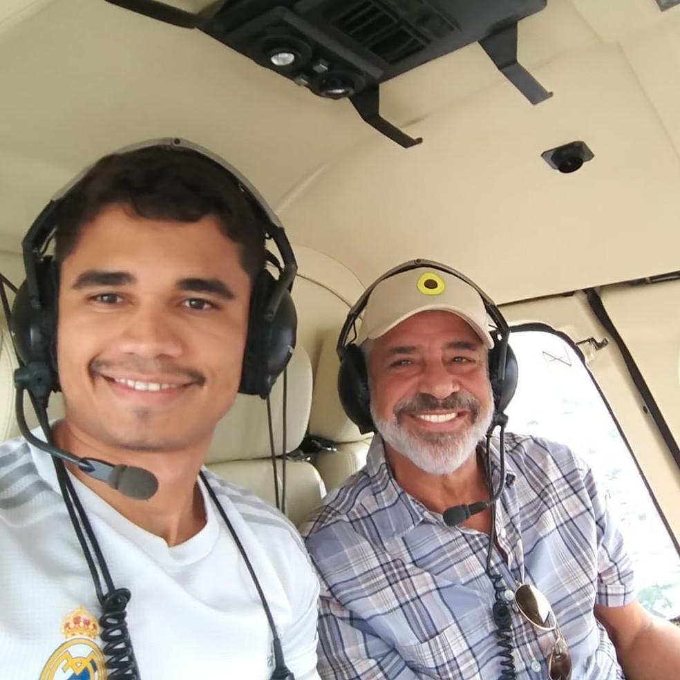 Lulu Santos e Clebson Teixeira (Foto: Reprodução/Instagram)