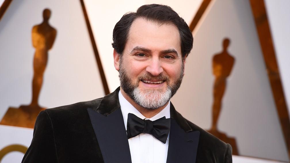 Michael Stuhlbarg, ator de 'Me chame pelo seu nome', no tapete vermelho do Oscar 2018 (Foto: Jordan Strauss/Invision/AP)