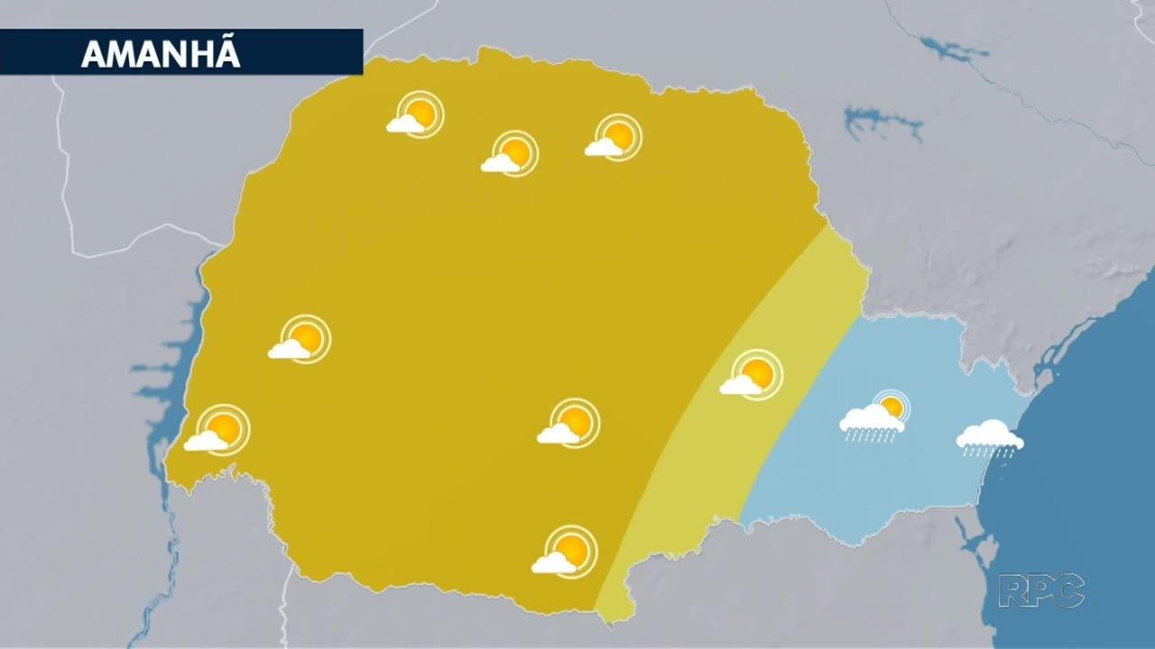 Confira a previsão do tempo para esta quinta-feira em todo o estado