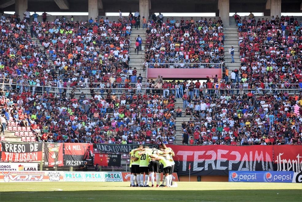 Monagas disputarão a Libertadores pela primeira vez (Foto: Monagas / DVG)
