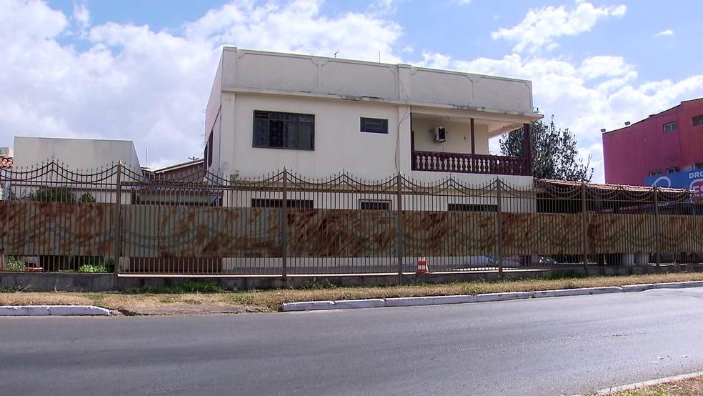 Unidade de semiliberdade no Guará, no DF — Foto: TV Globo/Reprodução