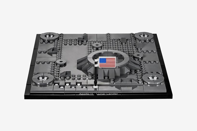 LEGO cria réplica da Apollo 11 em comemoração aos 50 anos da ida à Lua (Foto: Divulgação)