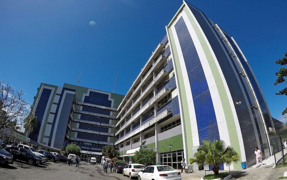 Hospital Roberto Santos, em Salvador — Foto: Leonardo Rattes/Divulgação