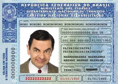 Carteira Nacional de Habilitação - CNH  (Foto: Divulgação)