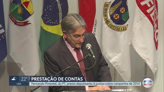 Ex-governador Pimentel e empresário são ouvidos em processo da Operação Acrônimo