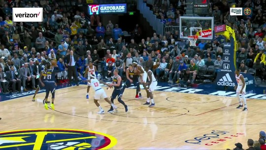 Nuggets vencem os Knicks com outra grande atuação de Jokic
