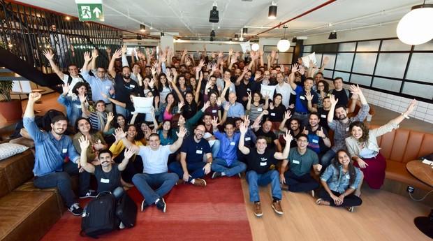 Startups selecionadas para programa do BNDES Garagem (Foto: André Telles/Divulgação BNDES)