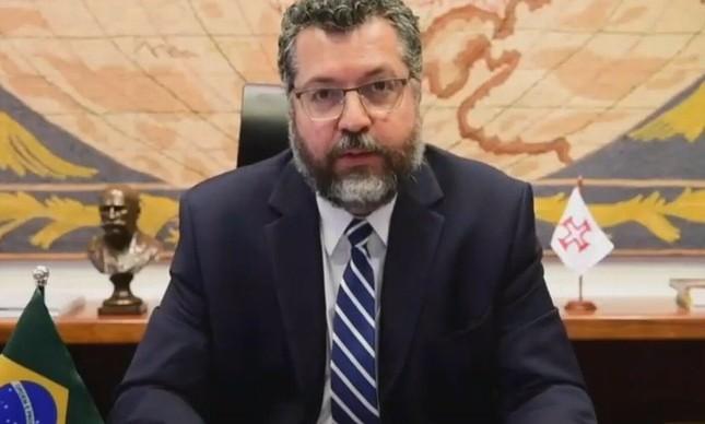 O chanceler Ernesto Araújo no Conselho de Direitos Humanos da ONU