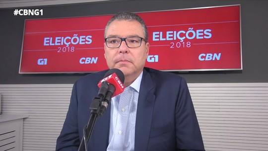 Marcelo Trindade defende a venda da Cedae: 'Nós temos que privatizar tudo que a gente puder'