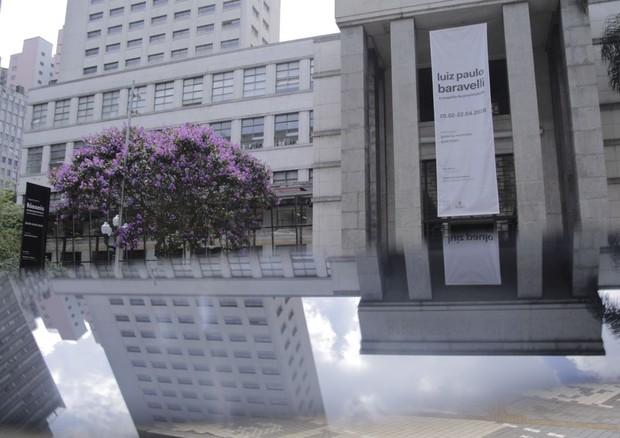 Biblioteca Mário de Andrade recebeu desfile da À La Garçonne (Foto: Ricardo Toscani)