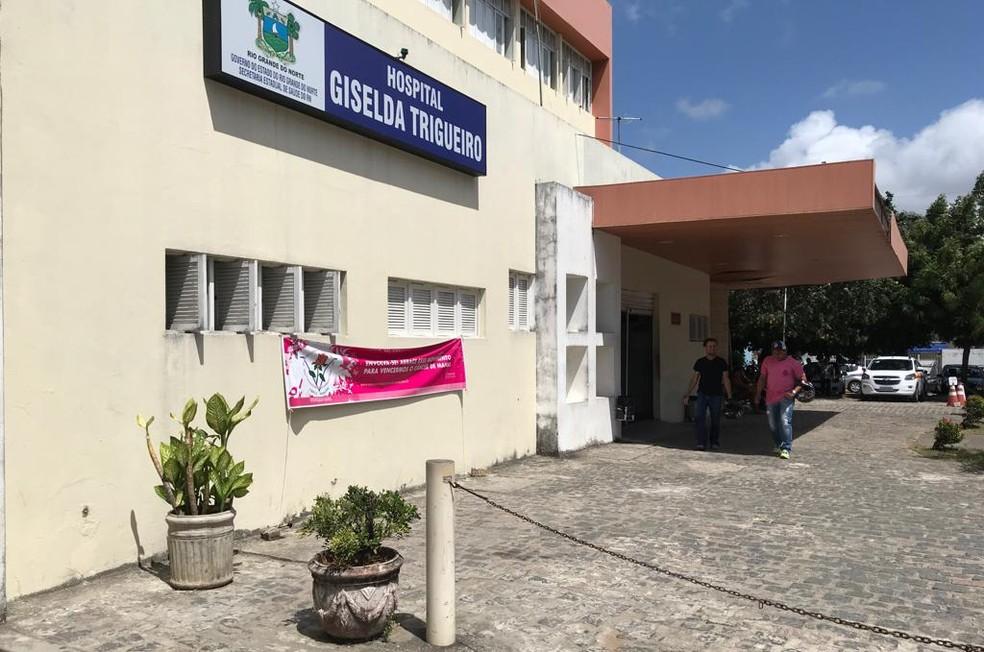 Médica foi afastada do Hospital Giselda Trigueiro após ragasr receita de paciente que disse que votou em Haddad — Foto: Michelle Rincon/Inter TV Cabugi