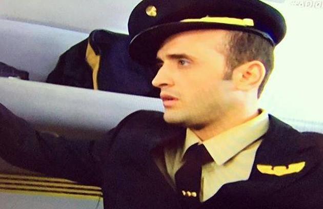 Em 'A diarista', também em 2006, ele interpretou um comissário de bordo (Foto: Reprodução)