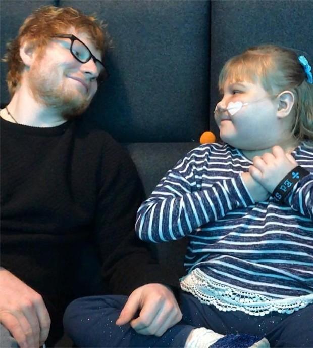 Ed Sheeran e Melody (Foto: Reprodução/Instagram)