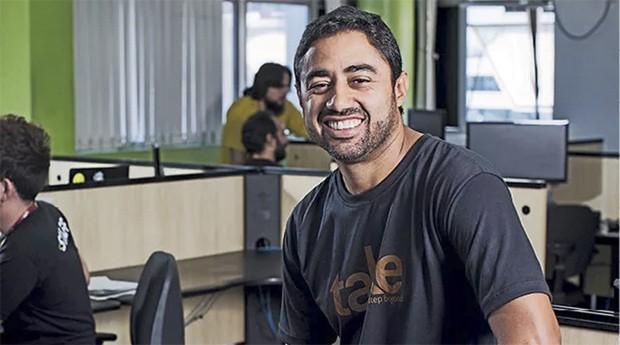 Sérgio Passos, cofundador da Take: meta é ser o melhor fornecedor de serviços para celular do país (Foto: PEGN)