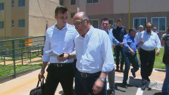 Governador Geraldo Alckmin inaugura conjunto habitacional em Rio Claro