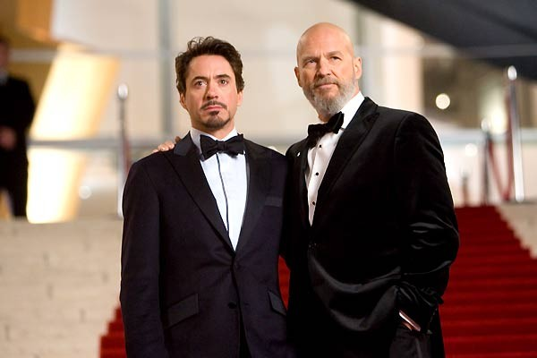 Jeff Bridges e Robert Downey Jr. em Homem de Ferro (Foto: Divulgação)